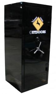 Gun safe built for Young Guns TV