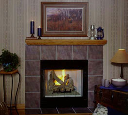 Wood Fireplaces & Pellet Stoves | Mike's Heating