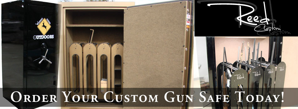 Order your custom gun safe today!
